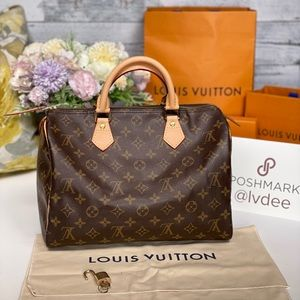 ✅Speedy 30✅LOUIS VUITTON Speedy 30 Monogram
